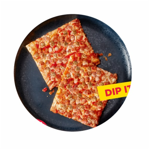Totino's Frozen Triple Meat Party Pizza Pack Perspective: back