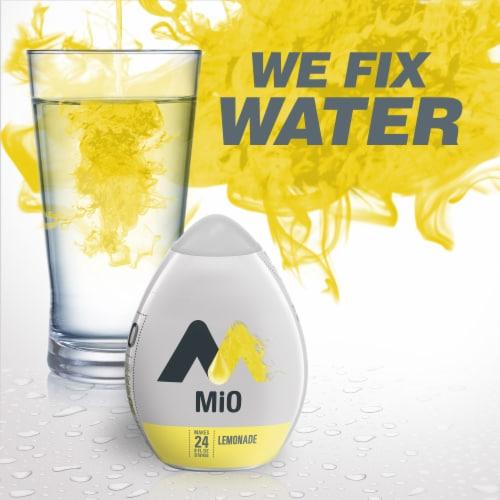Mio Lemonade Liquid Water Enhancer Perspective: back