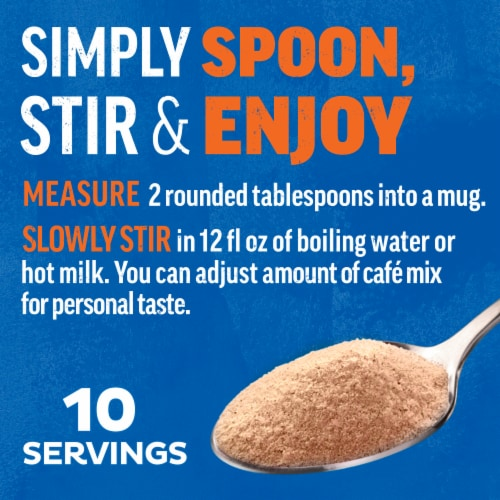 Maxwell House International Café Suisse Mocha Decaf Sugar Free Coffee Perspective: back