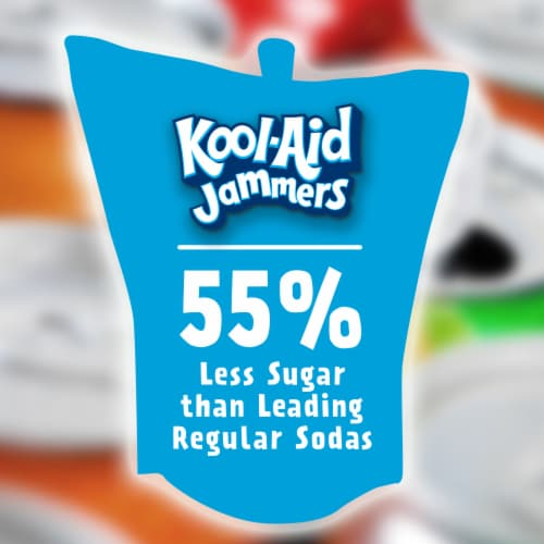 Kool-Aid Jammers Tropical Punch Flavored Drink Perspective: back
