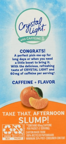 Crystal Light Citrus On-The-Go Drink Mix Packets Perspective: back