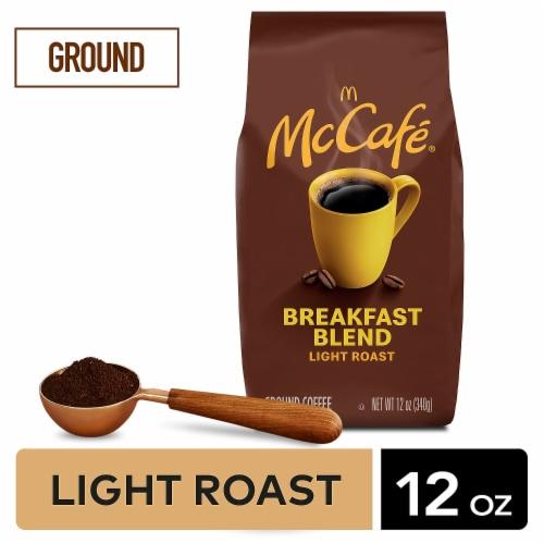 McCafe Breakfast Blend Light Roast Ground Coffee Perspective: back
