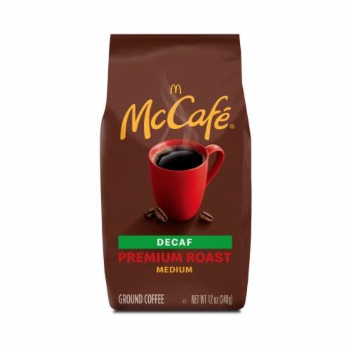 McCafe Decaf Premium Medium Roast Ground Coffee Perspective: back