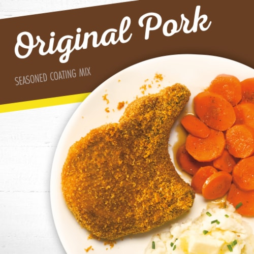 Shake 'N Bake Original Pork Seasoned Coating Mix Perspective: back