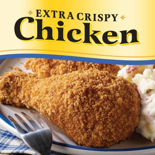 Oven Fry Extra Crispy Chicken Seasoned Coating Mix Perspective: back
