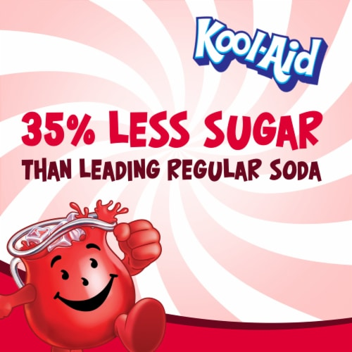 Kool-Aid Cherry Powdered Drink Mix Perspective: back