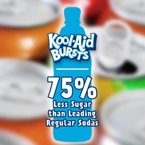 Kool-Aid Bursts Artificially Flavored Tropical Punch Drinks Perspective: back