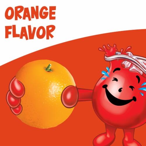 Kool-Aid Unsweetened Orange Powdered Drink Mix Perspective: back