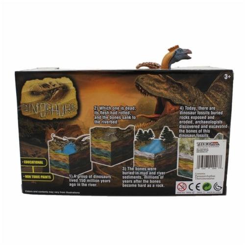 Extinct World Dinosaur Duo Boxed Playset, Style C Perspective: back