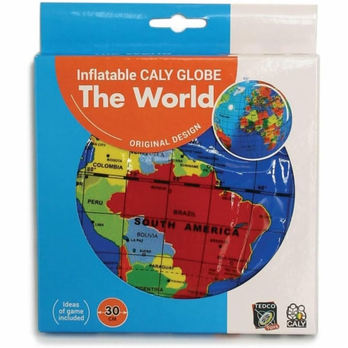 """12"""" Inflatable Globe Perspective: back"""