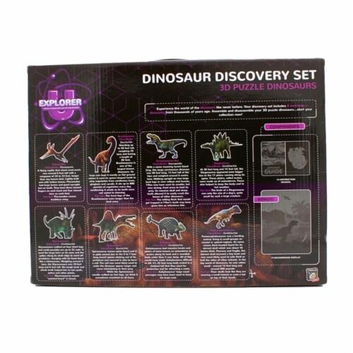 Dinosaur 3D Puzzle Set Perspective: back