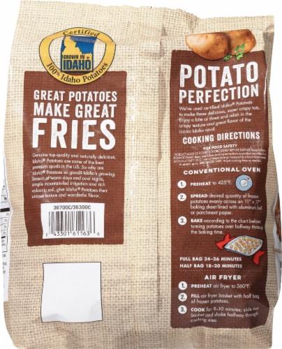 Lamb Weston Crispy Potato Puffs Perspective: back