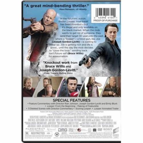 Looper (2012 - DVD/UltraViolet) Perspective: back