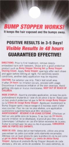 High Time Bump Stopper Sensitive Skin Razor Bump Treatment Perspective: back