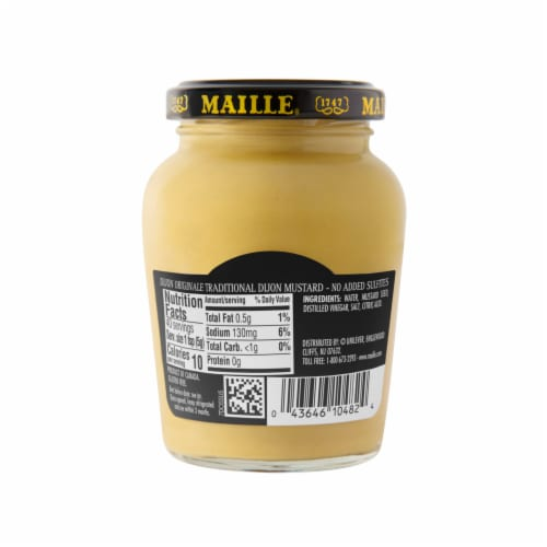 Maille Dijon Originale Traditional Dijon Mustard Perspective: back