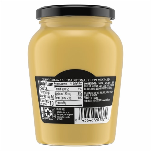 Maille Traditional Dijon Originale Mustard Perspective: back