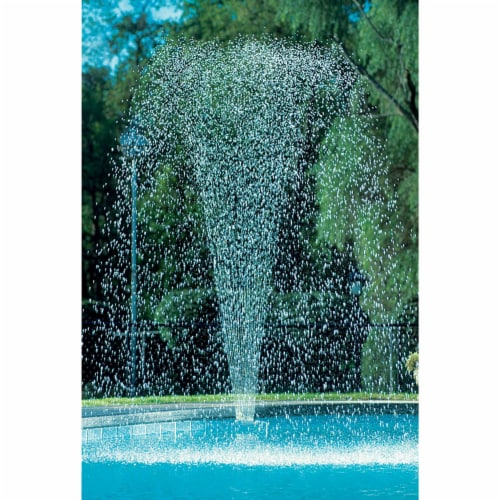 JED Pool Tools 90-915 Above and In Ground Swimming Pool Spray Waterfall Fountain Perspective: back