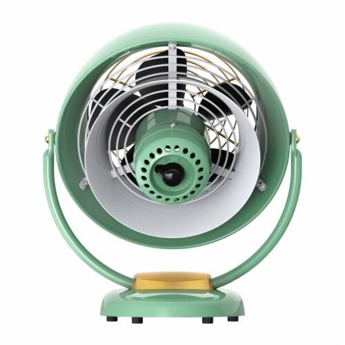 Vornado VFAN Vintage Air Circulator Fan - Green Perspective: back