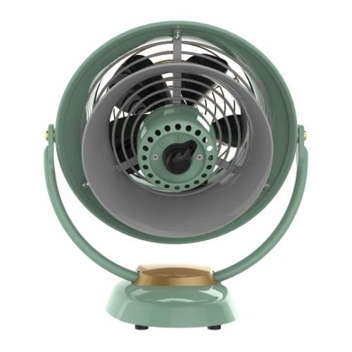 Vornado VFAN Jr Vintage Air Circulator Fan - Green Perspective: back