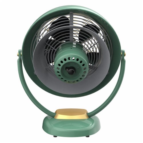 Vornado VFAN Sr. Vintage Air Circulator Fan - Green Perspective: back