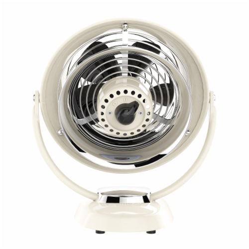 Vornado VFAN Jr Vintage Air Circulator Fan - Vintage White Perspective: back