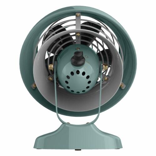 Vornado VFAN Mini Classic Vintage Air Circulator Fan - Green Perspective: back