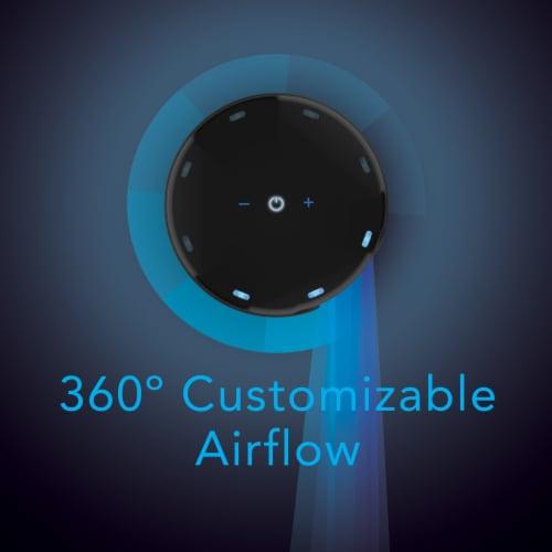 Vornado Atom 1 Oscillating Desktop Tower Fan Perspective: back