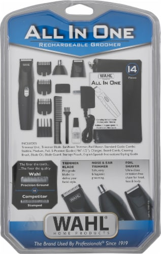 Wahl® All In One Rechargeable Groomer Perspective: back