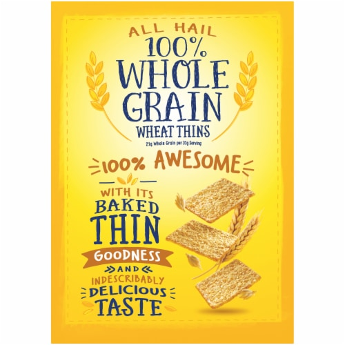 Wheat Thins Original Crackers Family Size Perspective: back
