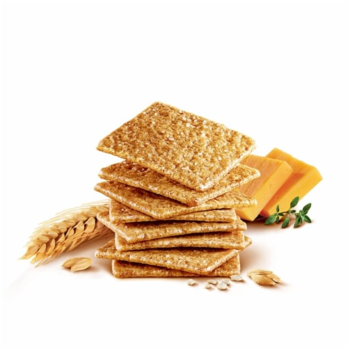 Nabisco Wheat Thins Original Crackers (20 Ounce bags, 2 Count) Perspective: back