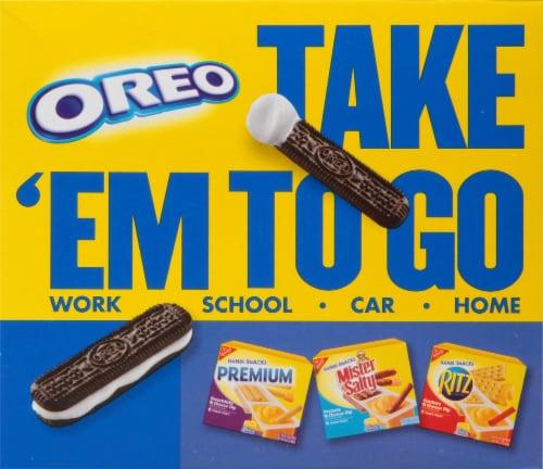 Handi-Snacks Oreo Cookie Sticks 'n Creme Dip Snack Packs Perspective: back
