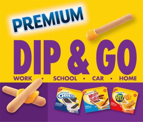 Handi-Snacks Premium Breadsticks 'n Cheese Dip Snack Packs Perspective: back