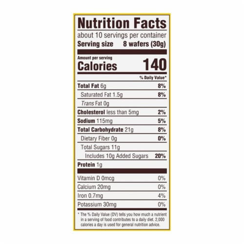 Nilla Wafers Vanilla Wafer Cookies Perspective: back