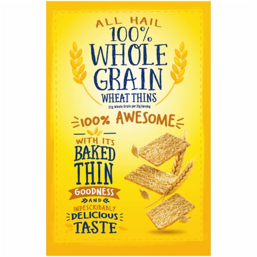 Wheat Thins Original Crackers Perspective: back