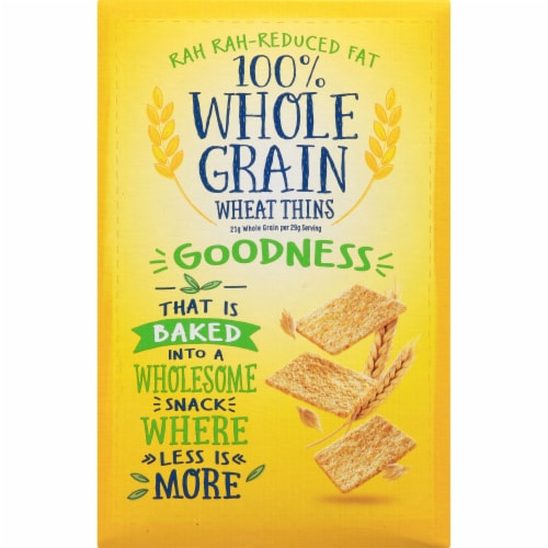 Wheat Thins Reduced Fat Crackers Perspective: back