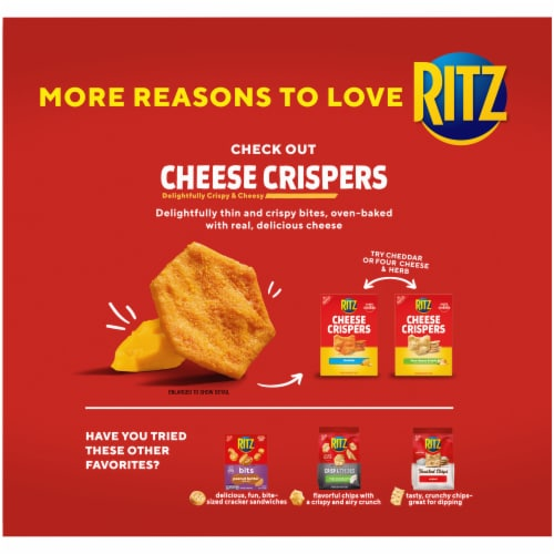 Ritz Whole Wheat Crackers Perspective: back