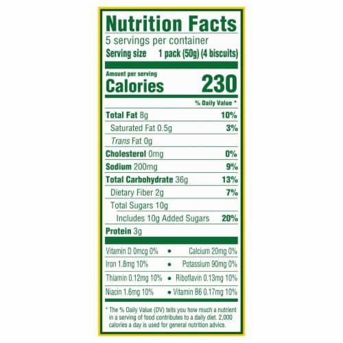 belVita Cinnamon Brown Sugar Breakfast Biscuits Perspective: back