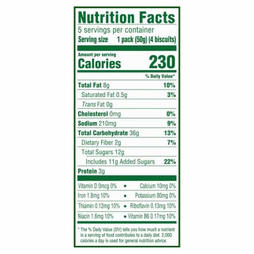 belVita Cranberry Orange Breakfast Biscuits Perspective: back