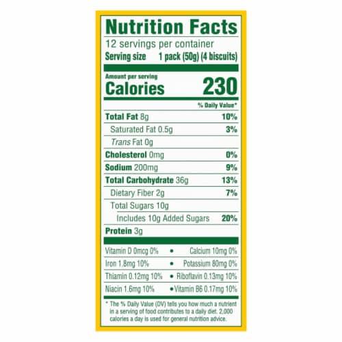 belVita Golden Oat Breakfast Biscuits Value Pack Perspective: back