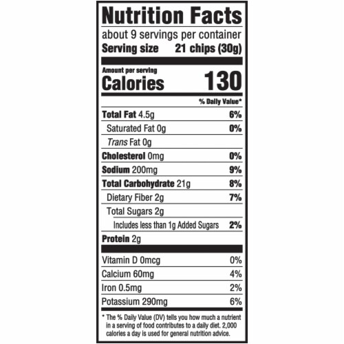 Ritz Crisp & Thins Original with Creamy Onion & Sea Salt Oven-Baked Chips Family Size Perspective: back