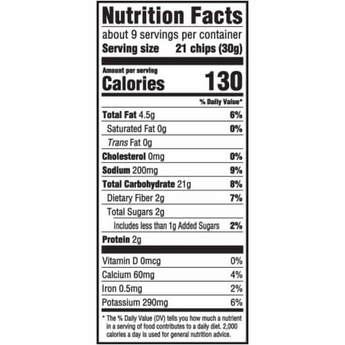 Ritz Crisp & Thins Original with Creamy Onion & Sea Salt Oven Baked Chips Family Size Perspective: back