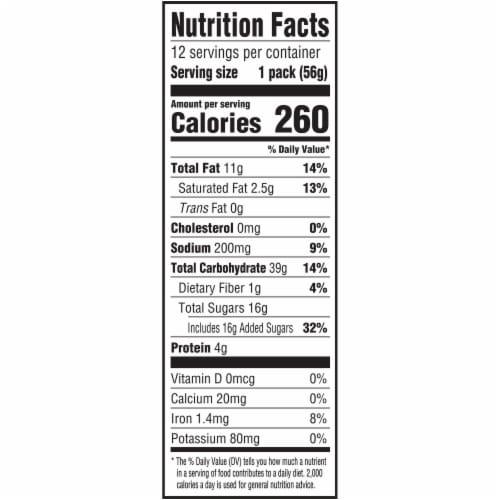 Nutter Butter Peanut Butter Sandwich Cookies Multi-Pack Perspective: back