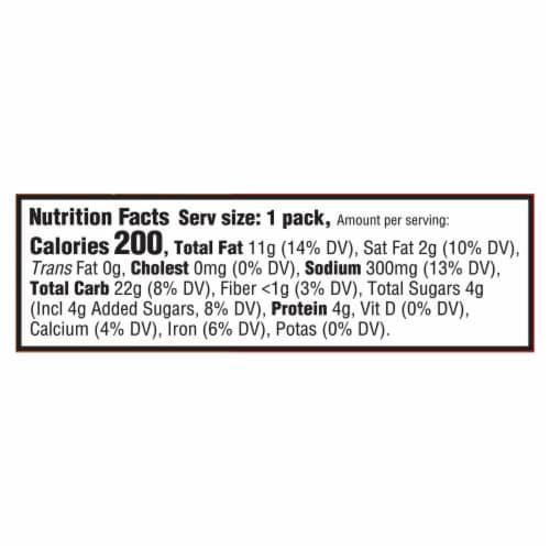 Ritz Peanut Butter Cracker Sandwich Snack Packs Perspective: back