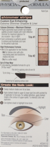 Physicians Formula Shimmer Strip Shadow and Liner Nude Eye Shadow Perspective: back