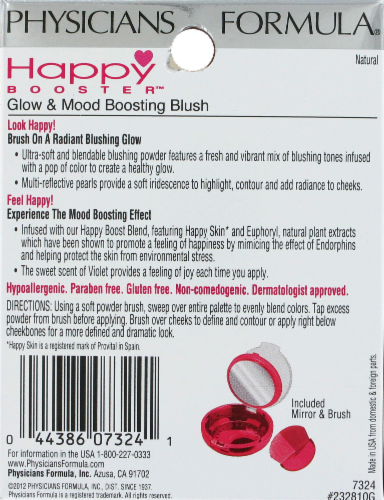 Physicians Formula Happy Booster 7234 Natural Glow & Mood Boosting Blush Perspective: back