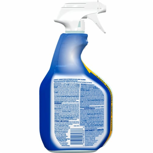 Clorox Disinfecting Bathroom Cleaner Spray 2 Count Perspective: back