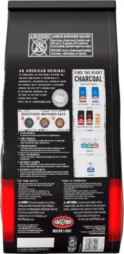 Kingsford Match Light Instant Charcoal Briquets Perspective: back