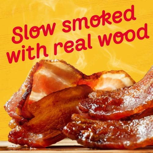 Oscar Mayer Naturally Hardwood Smoked Thick Cut Bacon Perspective: back