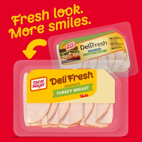 Oscar Mayer Deli Fresh Smoked Turkey Breast Perspective: back