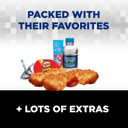Lunchables Uploaded 6-Piece Chicken Dunks Perspective: back